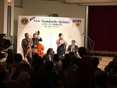 第2弾 New Standards Quintet 「LIVE IN SHIRONE」